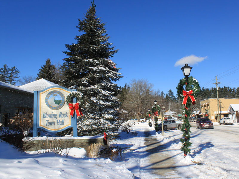 Festive Events Abound in Blowing Rock During the Holiday Season